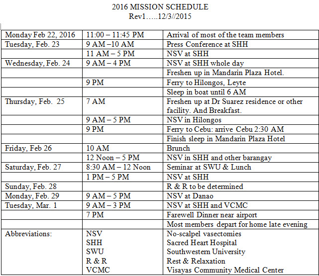 2016MissionSchedule