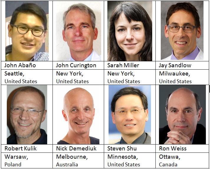 2016 Team Physicians-JohnAbano-JohnCurington-SarahMiller-JaySandlow-RobertKulik-NickDemediuk-StevenShu-RonWeiss