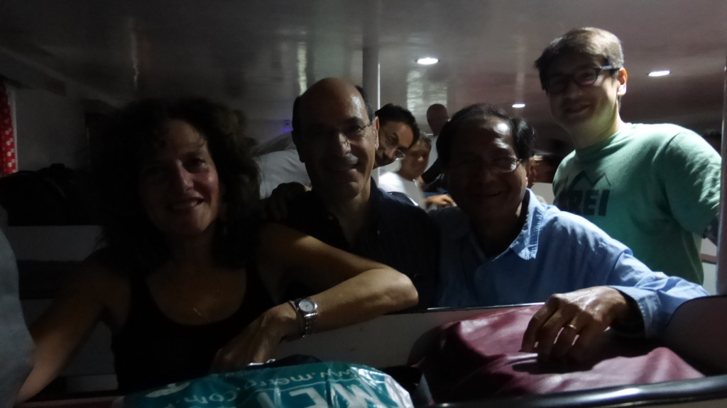 Ferry to Hilongos - Debbie Ron Ramon JB