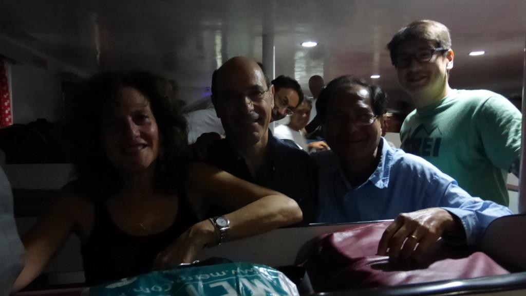 Ferry to Hilongos - Debbie Ron Ramon JB