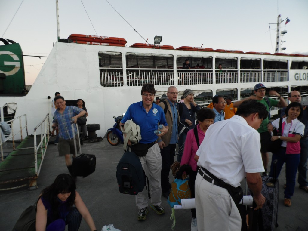 arrival of Ferry in Hilongos