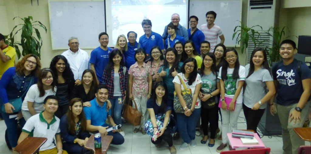 NSVI group after lectures at Southwestern University