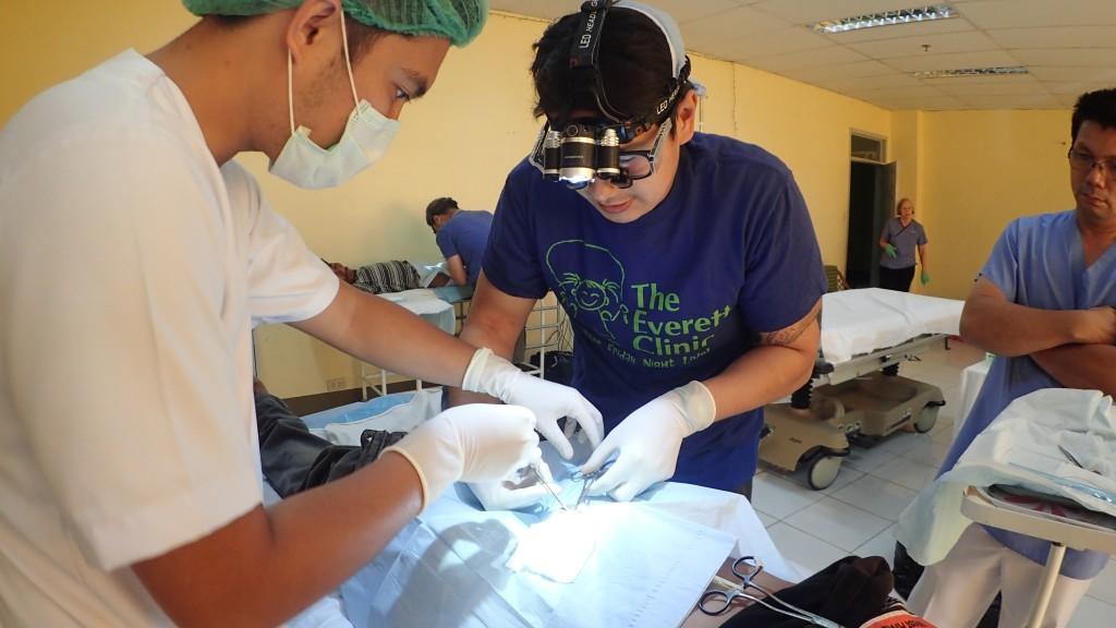JB Abano doing vasectomy in hospital in Danao