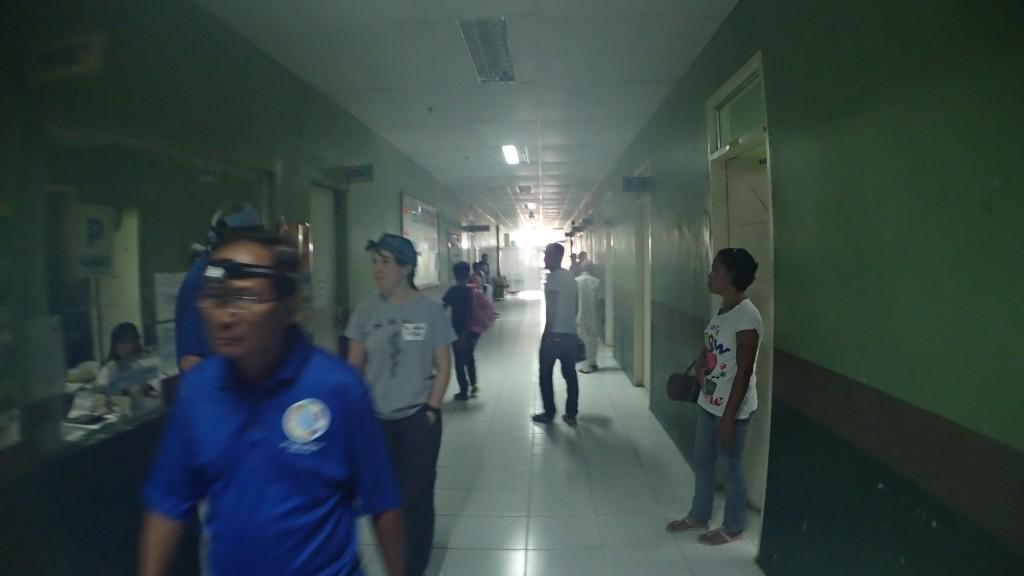 hospital hallway in Danao