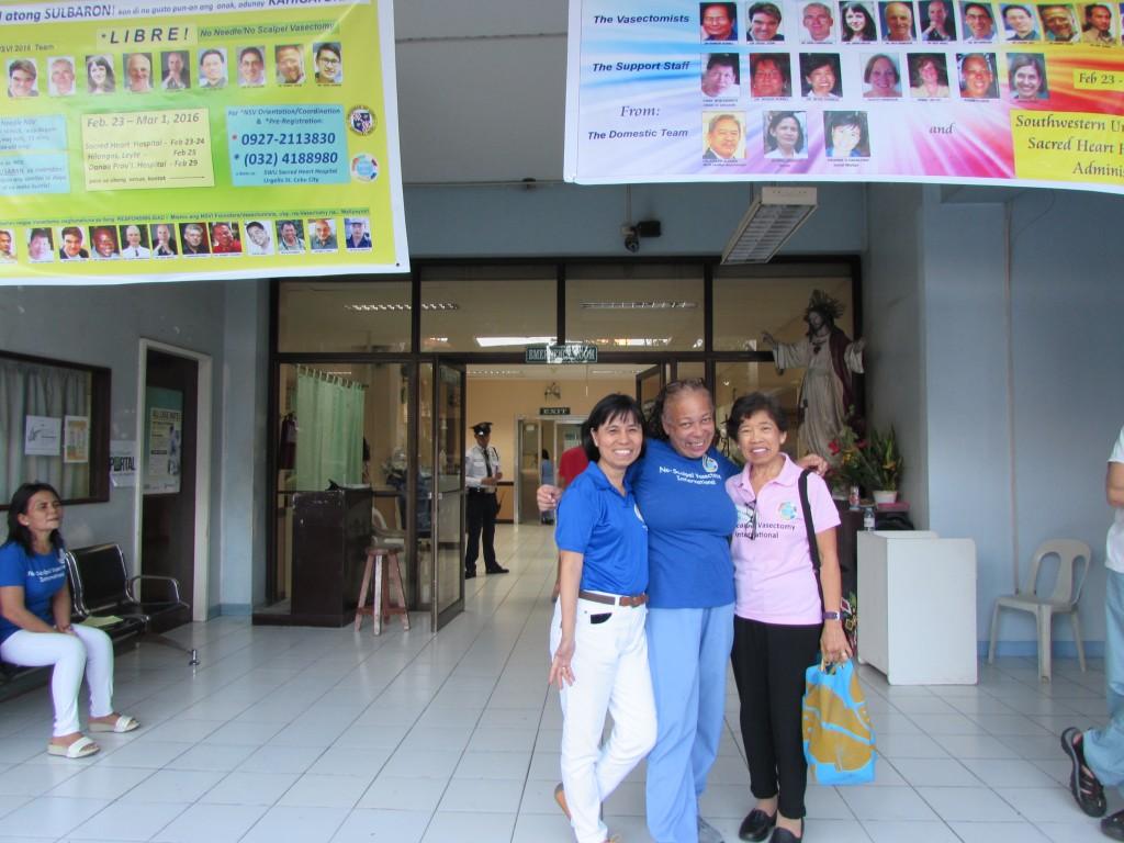 Frohnie Liz Benita at Sacred Heart Hospital in Cebu