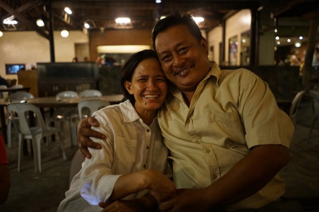 Myrna Danuco and Rosaulo at Neo Neo