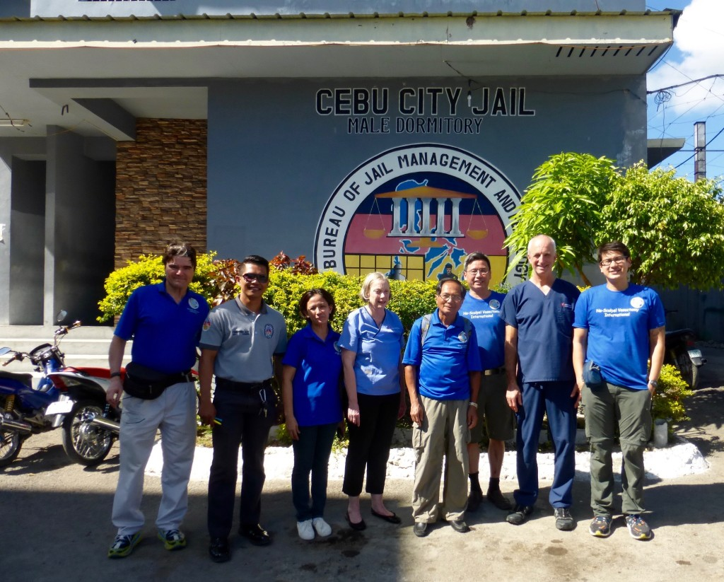 NSVI team at the Cebu City Jail