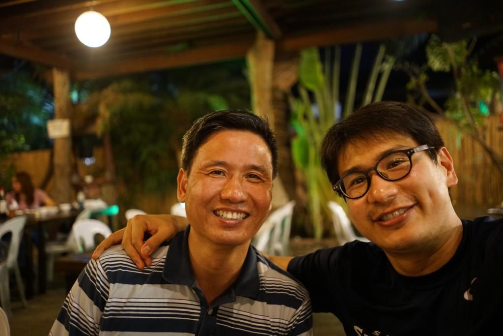 Steven Shu and JB Abano at Neo Neo